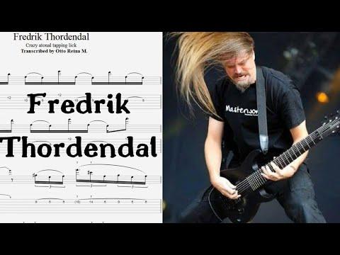 Fredrik Thordendal (Meshuggah) - INSANE Use Of Atonal TAPPING &  Chromaticism