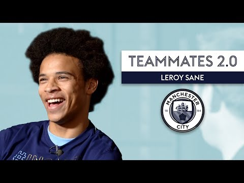 The Fastest Player at Manchester City is...   Leroy Sane   Teammates 2.0