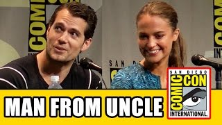 THE MAN FROM UNCLE Comic Con Panel