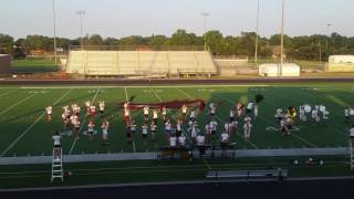 MHS Marching Band 2017 - Band Camp