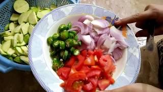 Chapniyan bhujiya /desi tendiyan recipe Maria,s kitchen.