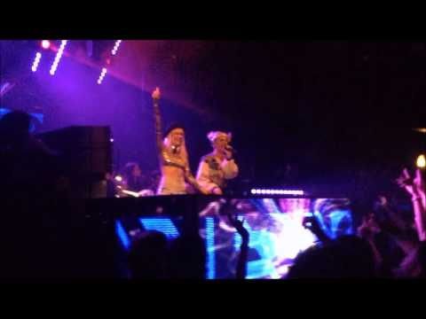 Nervo live Rise Early Morning at D! Club in Lausanne (SUI) [Full HD]