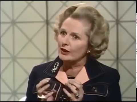 Margaret Thatcher on BBC Newsday 1975 - United Kingdom European Communities Membership Referendum