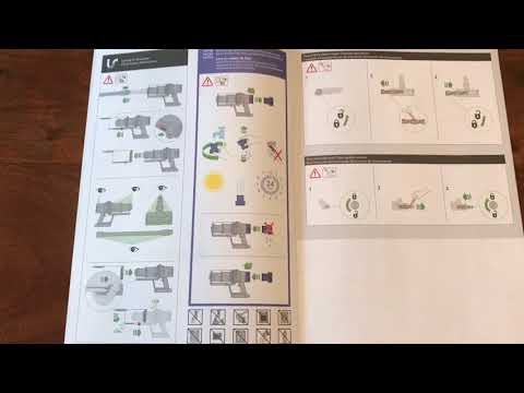 Dyson V10 Animal Parts And Manual Youtube