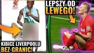 SKANDALICZNE zachowanie kibiców Liverpoolu! Haaland lepszy od Lewandowskiego!