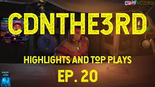 CDNTHE3RD Highlights, Best Plays and Top Moments | EP20