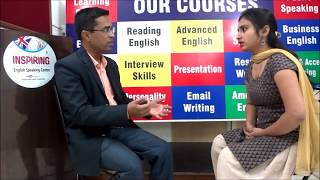 mock interview of an HR candidate,English learning videos