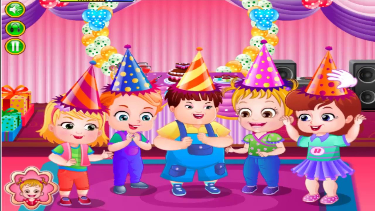 Baby Hazel Game Movie Baby Hazel Birthday Party Dora The