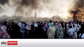 Military unrest in Sudan as government forces take over