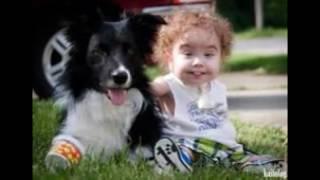 прикольные фото животных и детей