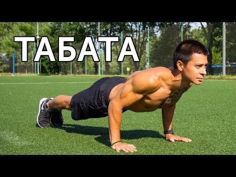 ТРЕНИРОВКА ТАБАТА! Как убрать живот и укрепить мышцы за 4 минуты? | Neofit 28