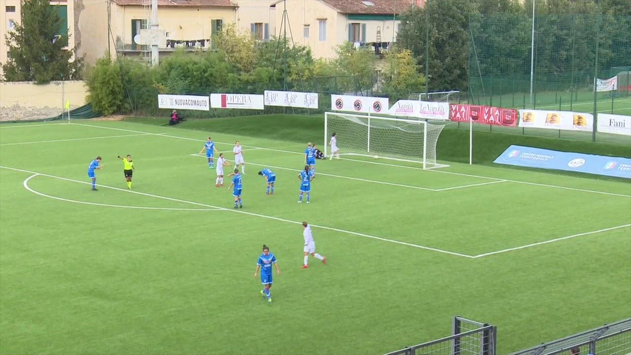 Fiorentina Women's-Brescia CF 2-4