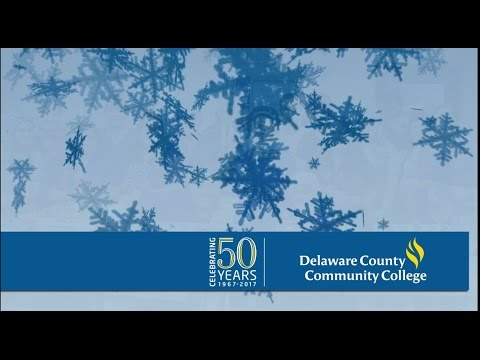 Season's Greetings from Delaware County Community College