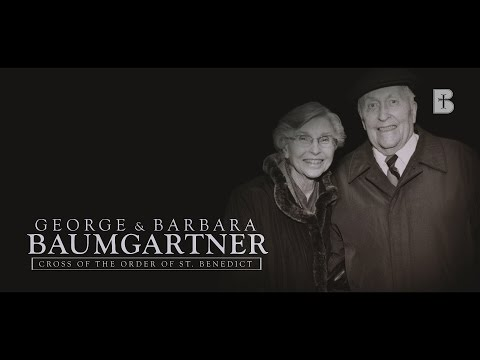 The Baumgartners: Cross of the Order of St. Benedict Honorees - Benedictine College