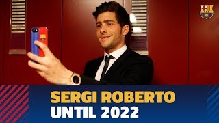 Sergi Roberto signs contract extension until 2022