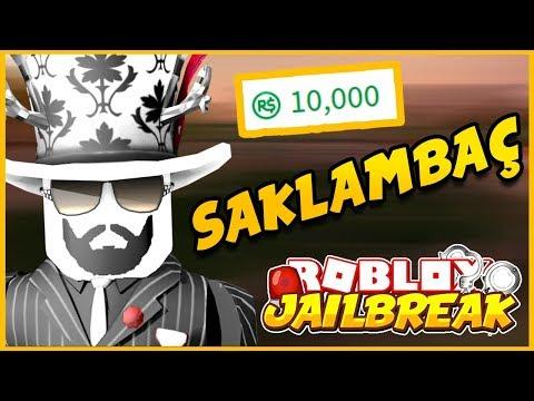 💰🤑 ROBUX ÖDÜLLÜ SAKLAMBAÇ OYNADIK !! 🤑💰 / Roblox Jailbreak / Roblox Türkçe / Melih Kardes