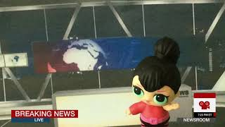 Breaking news with LOL dolls