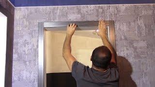 видео Отделка дверных проемов своими руками
