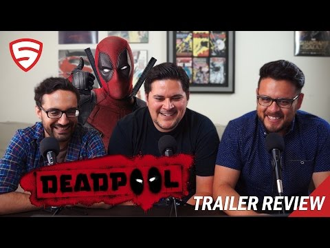 Deadpool Red Band Trailer Reaction and Review!