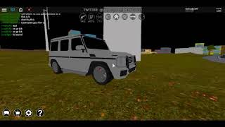 Review the new mercedes G35 amg in full throttle (roblox)