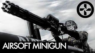 AIRSOFT MINIGUN mounted on Truck - BERGET 14 - Part 1