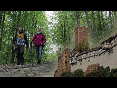 Wandern auf dem Lutherweg in Thüringen und ein Besuch in Weimar