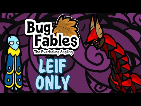 Bug Fables Leif Only Challenge - Chapter 5 Bosses (Hard Mode) |