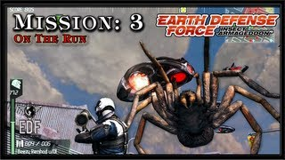 Earth Defense Force: Insect Armageddon PC Gameplay - Mission 3 - On The Run