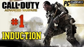 Call Of Duty Advanced Warfare [ PC ] - Walkthrough Part 1 Mission 1 induction Gameplay 1080p