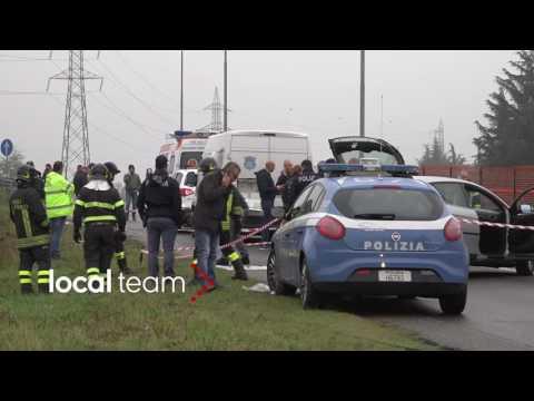 Assalto a portavalori a Bollate (Milano): spari e chiodi per strada