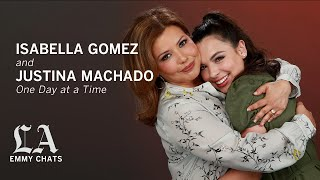 'One Day at a Time' may be in limbo, but Justina Machado & Isabella Gomez can still laugh about it.