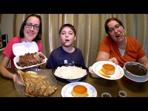Best Filipino Food | Gay Family Mukbang (먹방) - Eating Show
