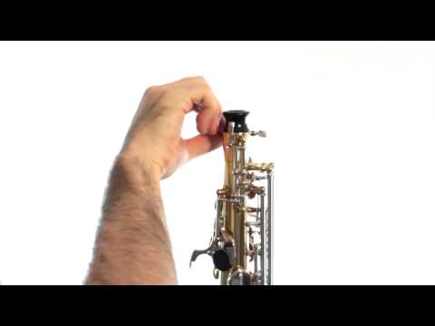 Saxophone Lesson 1: Assembly