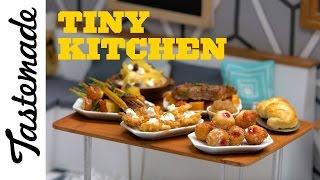 Tiny Hanukkah Sufganiyot (Hanukkah Jelly Doughnuts) l Tiny Kitchen