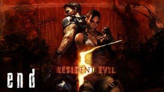 Resident Evil 5 Walkthrough S-Rank Part 28 - Wesker Final Battle + Ending