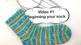 Learn to Knit Socks - #1: Beginning Your Sock