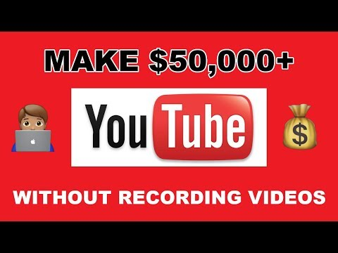 (EASY) HOW TO MAKE MONEY ON YOUTUBE WITHOUT RECORDING VIDEOS