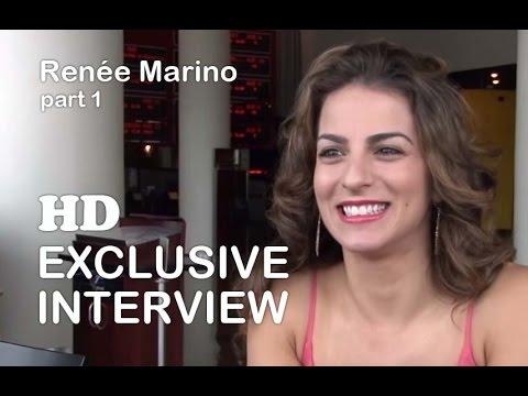 Jersey Boys Actress Renée Marino:   part 1 of 2