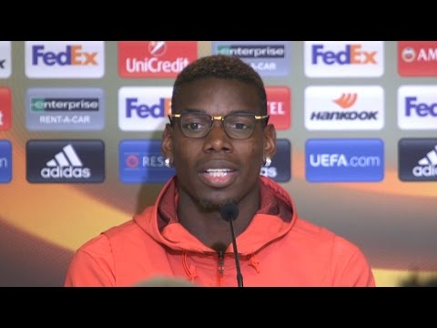 Paul Pogba Full Pre-Match Press Conference - Anderlecht v Manchester United - Europa League