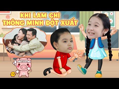 Gia đình là số 1 P2: Lam Chi và những lần thông minh đột xuất khiến Tâm Anh