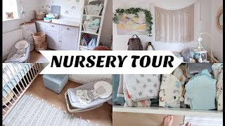 NURSERY TOUR || GENDER NEUTRAL \ MINIMAL \ SMALL ROOM