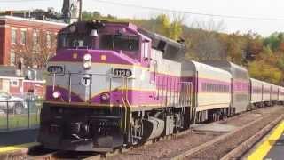 Fall Rail fanning in Ayer MA 10/?/14 (PAR & MBTA)