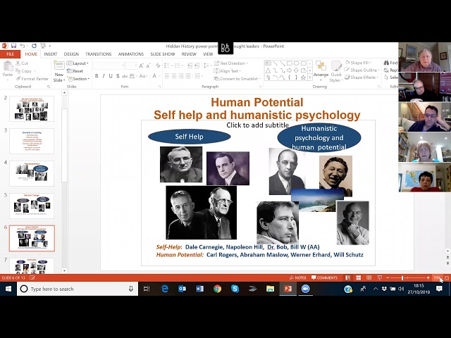 "EBC Thought Leaders Webinar | ""The Hidden History of Coaching"""