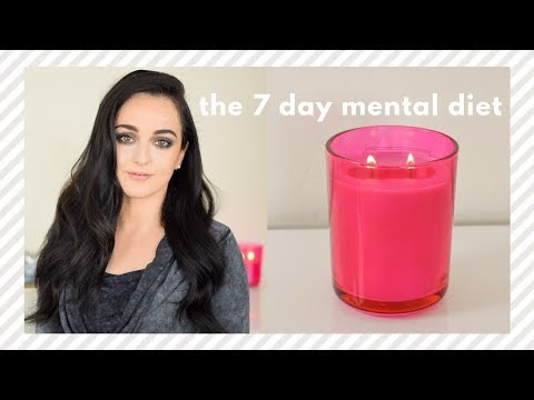 The 7 Day Mental Diet Change Your Life In A Week YouTube