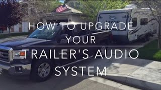 How To Upgrade Your Trailer RV Sound System DVD Head Unit
