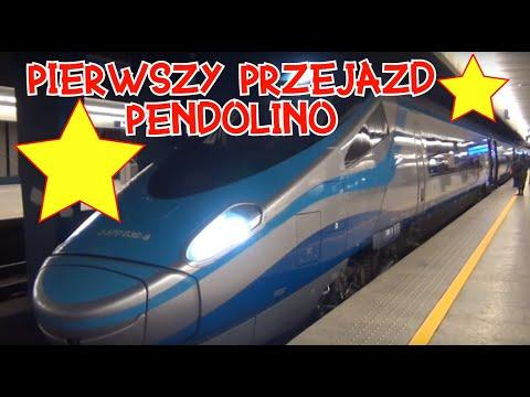 Pendolino Express InterCity Premium Warszawa Wschodnia Kraków
