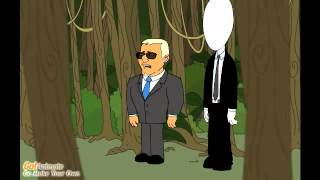The Adventures of Slender Man and Obama's Bodyguard