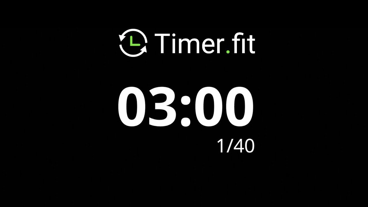 3 minute interval timer youtube