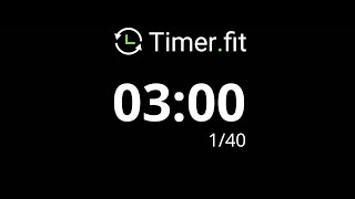 3 Minute Interval Timer