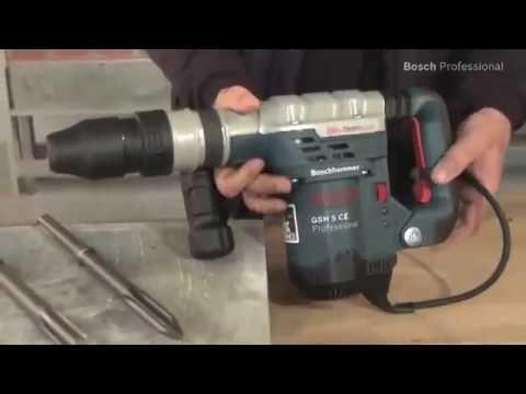 Gut Burineur piqueur SDS Max Bosch GSH 5 CE - Guedo Outillage - YouTube DR67